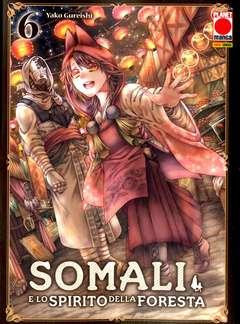 Copertina SOMALI E LO SPIRITO DELLA... n.6 - SOMALI E LO SPIRITO DELLA FORESTA, PLANET MANGA