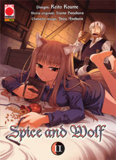 Copertina SPICE AND WOLF (m16) n.2 - SPICE AND WOLF, PLANET MANGA