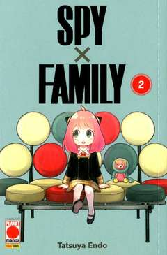 Copertina SPY X FAMILY n.2 - PLANET MANGA PRESENTA 109, PLANET MANGA