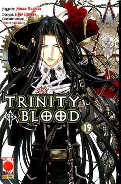 Copertina TRINITY BLOOD n.19 - TRINITY BLOOD, PLANET MANGA