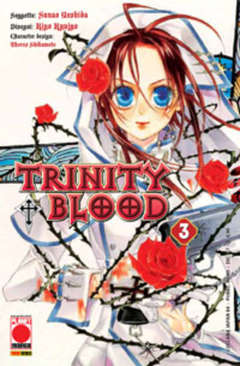 Copertina TRINITY BLOOD (m21) n.3 - TRINITY BLOOD, PLANET MANGA