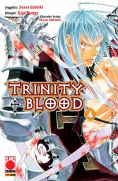 Copertina TRINITY BLOOD (m21) n.4 - TRINITY BLOOD, PLANET MANGA