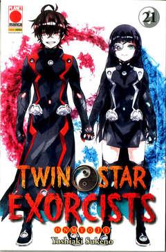 Copertina TWIN STAR EXORCISTS n.21 - MANGA ROCK 28, PLANET MANGA