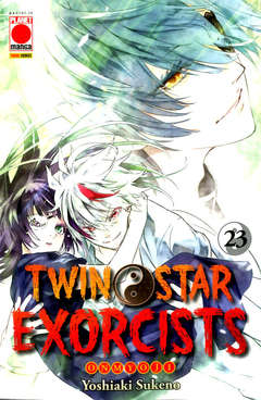 Copertina TWIN STAR EXORCISTS n.23 - MANGA ROCK 30, PLANET MANGA