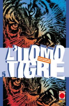 Copertina UOMO TIGRE n.5 - TIGER MASK (m14), PLANET MANGA