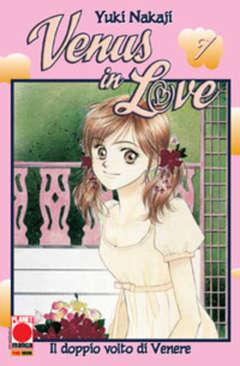 Copertina VENUS IN LOVE n.7 - IL DOPPIO VOLTO DI VENERE, PLANET MANGA
