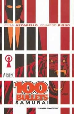 Copertina 100 BULLETS (m13) n.7 - SAMURAI, PLANETA-DE AGOSTINI