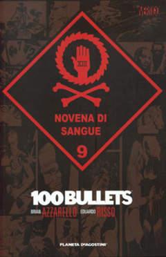 Copertina 100 BULLETS (m13) n.9 - NOVENA DI SANGUE, PLANETA-DE AGOSTINI