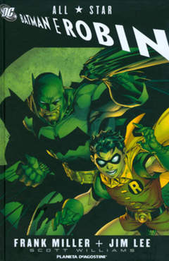 Copertina ALL STAR BATMAN E ROBIN n. - ALL STAR BATMAN E ROBIN, PLANETA-DE AGOSTINI