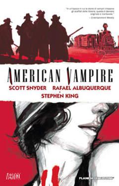 Copertina AMERICAN VAMPIRE n.1 - AMERICAN VAMPIRE, PLANETA-DE AGOSTINI