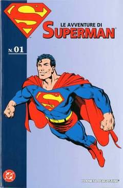 Copertina AVVENTURE DI SUPERMAN n.1 - AVVENTURE DI SUPERMAN, PLANETA-DE AGOSTINI