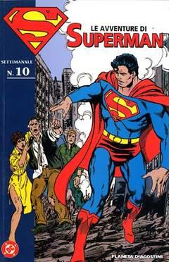 Copertina AVVENTURE DI SUPERMAN n.10 - LE AVVENTURE DI SUPERMAN, PLANETA-DE AGOSTINI