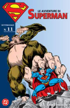 Copertina AVVENTURE DI SUPERMAN n.11 - AVVENTURE DI SUPERMAN m40   11, PLANETA-DE AGOSTINI