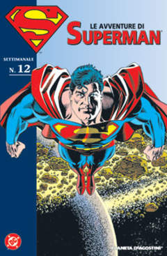 Copertina AVVENTURE DI SUPERMAN n.12 - LE AVVENTURE DI SUPERMAN, PLANETA-DE AGOSTINI