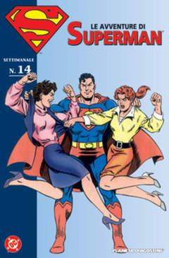 Copertina AVVENTURE DI SUPERMAN n.14 - LE AVVENTURE DI SUPERMAN, PLANETA-DE AGOSTINI