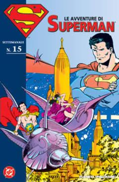 Copertina AVVENTURE DI SUPERMAN n.15 - AVVENTURE DI SUPERMAN m40   15, PLANETA-DE AGOSTINI
