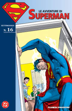 Copertina AVVENTURE DI SUPERMAN n.16 - AVVENTURE DI SUPERMAN, PLANETA-DE AGOSTINI