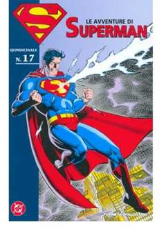 Copertina AVVENTURE DI SUPERMAN n.17 - AVVENTURE DI SUPERMAN 17, PLANETA-DE AGOSTINI