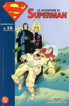 Copertina AVVENTURE DI SUPERMAN n.18 - AVVENTURE DI SUPERMAN m40   18, PLANETA-DE AGOSTINI