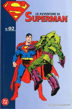 Copertina AVVENTURE DI SUPERMAN n.2 - AVVENTURE DI SUPERMAN, PLANETA-DE AGOSTINI