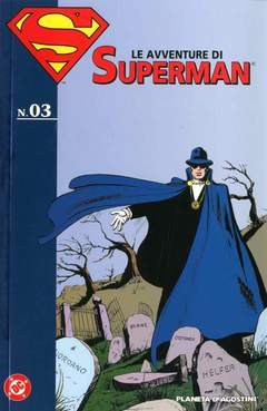 Copertina AVVENTURE DI SUPERMAN n.3 - AVVENTURE DI SUPERMAN, PLANETA-DE AGOSTINI