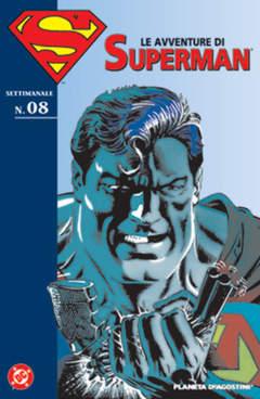Copertina AVVENTURE DI SUPERMAN n.8 - AVVENTURE DI SUPERMAN, PLANETA-DE AGOSTINI