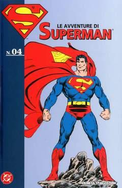 Copertina AVVENTURE DI SUPERMAN n.4 - LE AVVENTURE DI SUPERMAN, PLANETA-DE AGOSTINI