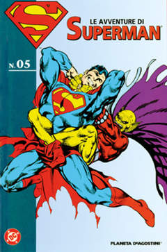 Copertina AVVENTURE DI SUPERMAN n.5 - LE AVVENTURE DI SUPERMAN, PLANETA-DE AGOSTINI