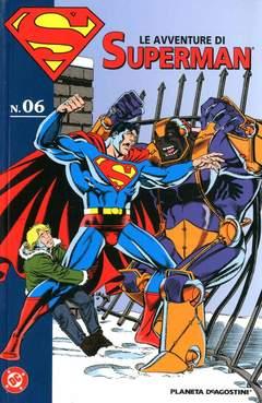 Copertina AVVENTURE DI SUPERMAN n.6 - LE AVVENTURE DI SUPERMAN, PLANETA-DE AGOSTINI