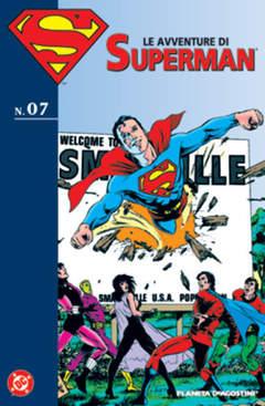 Copertina AVVENTURE DI SUPERMAN n.7 - LE AVVENTURE DI SUPERMAN, PLANETA-DE AGOSTINI