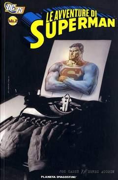 Copertina AVVENTURE SUPERMAN CASEY AUCOI n.1 - LE AVVENTURE DI SUPERMAN DI JOE CASEY E DEREC, PLANETA-DE AGOSTINI