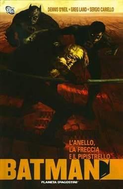 Copertina BATMAN L'ANELLO, LA FRECCIA E IL PIPISTRELLO n. - L'ANELLO, LA FRECCIA E IL PIPISTRELLO, PLANETA-DE AGOSTINI