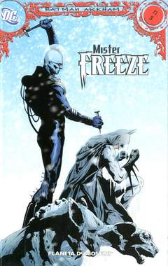 Copertina BATMAN ARKHAM (m12) n.5 - MR.FREEZE , PLANETA-DE AGOSTINI