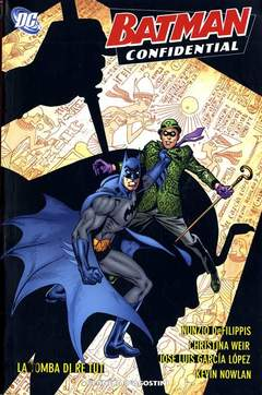 Copertina BATMAN CONFIDENTIAL n.6 - LA TOMBA DI RE TUT, PLANETA-DE AGOSTINI