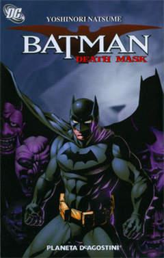 Copertina BATMAN DEATH MASK n. - BATMAN: DEATH MASK, PLANETA-DE AGOSTINI