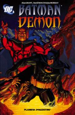 Copertina BATMAN DEMON n. - BATMAN/DEMON, PLANETA-DE AGOSTINI