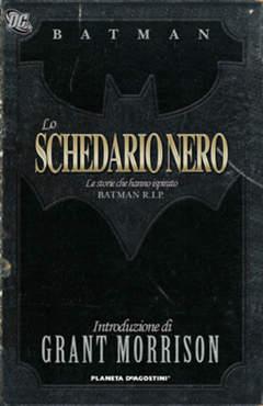 Copertina BATMAN LO SCHEDARIO NERO n. - BATMAN: LO SCHEDARIO NERO, PLANETA-DE AGOSTINI
