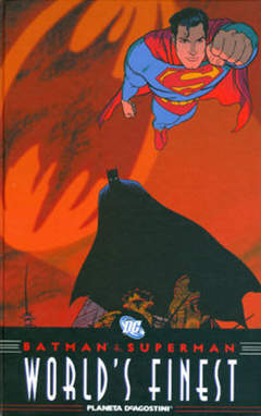 Copertina BATMAN SUPERMAN WORLD'S FINEST n. - BATMAN/SUPERMAN: I MIGLIORI DEL MONDO, PLANETA-DE AGOSTINI