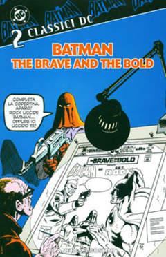 Copertina BATMAN THE BRAVE AND THE BOLD n.2 - BATMAN THE BRAVE AND THE     2, PLANETA-DE AGOSTINI