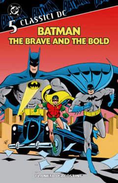 Copertina BATMAN THE BRAVE & THE BOLD m5 n.5 - BATMAN THE BRAVE & THE BO    5, PLANETA-DE AGOSTINI