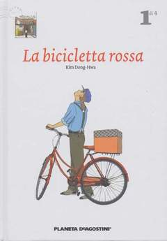 Copertina BICICLETTA ROSSA (m4) n.1 - LA BICICLETTA ROSSA, PLANETA-DE AGOSTINI