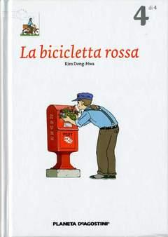Copertina BICICLETTA ROSSA (m4) n.4 - LA BICICLETTA ROSSA, PLANETA-DE AGOSTINI