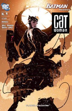 Copertina CATWOMAN 2007 n.4 - BATMAN PRESENTA 10, PLANETA-DE AGOSTINI