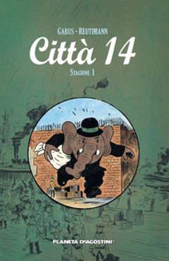 Copertina CITTA' 14 n.1 - STAGIONE 1, PLANETA-DE AGOSTINI