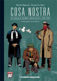 Copertina COSA NOSTRA n.1 - COSA NOSTRA, PLANETA-DE AGOSTINI