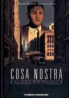 Copertina COSA NOSTRA n.3 - FOLLIA DELL'OLANDESE, PLANETA-DE AGOSTINI