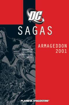 Copertina DC SAGAS n.6 - ARMAGEDDON 2001, PLANETA-DE AGOSTINI