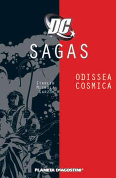 Copertina DC SAGAS n.3 - COSMIC ODISSEY, PLANETA-DE AGOSTINI