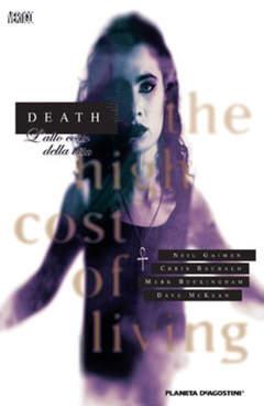 Copertina DEATH L'ALTO COSTO DELLA VITA n. - DEATH - L'ALTO COSTO DELLA VITA, PLANETA-DE AGOSTINI