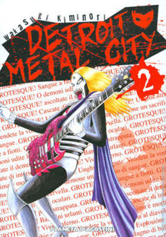 Copertina DETROIT METAL CITY n.2 - DETROIT METAL CITY, PLANETA-DE AGOSTINI